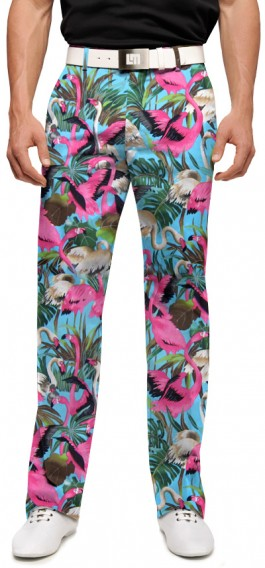 Pink Flamingos Men's Pant MTO