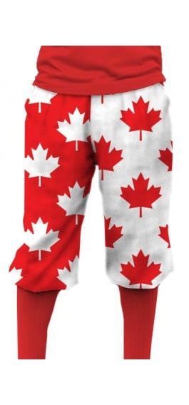 Canada Maple Leaf StretchTech Knickerbockers MTO