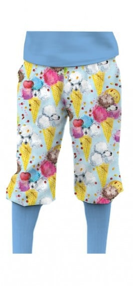 French Poodle Sundae StretchTech Knickerbockers MTO