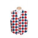 Red & Blue Tooth Men's Vest MTO