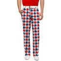 Red & Blue Tooth Men's Pant MTO