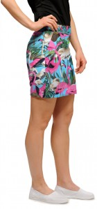 Pink Flamingos Women's Skort/Skirt MTO