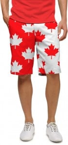 Canada Maple Leaf StretchTech Men's Short MTO