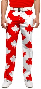 Canada Maple Leaf StretchTech Men's Pant MTO