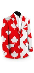 Canada Maple Leaf StretchTech Men's Sport Coat MTO