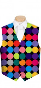 Disco Balls Black Men's Vest MTO