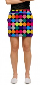 Disco Balls Black Women's Skort/Skirt MTO