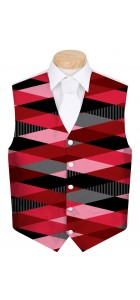 Fore Shades of Red Men's Vest MTO