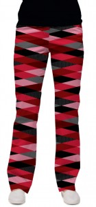 Fore Shades of Red Women's Capri/Pant MTO