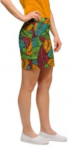 Fronds Klammer Women's Skort/Skirt MTO