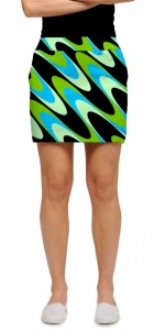 Interference Aqua Women's Skort/Skirt MTO