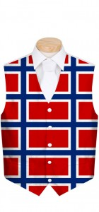 Norway Flag Men's Vest MTO