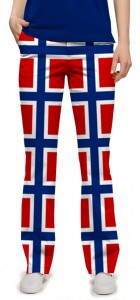 Norway Flag Women's Capri/Pant MTO
