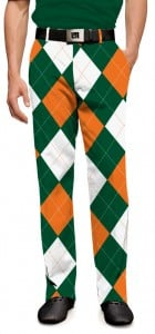 Orange & Green Men's Pant MTO