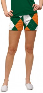 Orange & Green Women's Mini Short MTO
