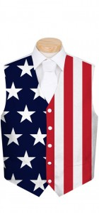Stars & Stripes StretchTech Men's Vest MTO
