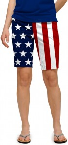 Stars & Stripes StretchTech Women's Bermuda Short