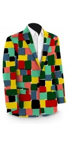 Technicolor Dream Men's Sport Coat MTO