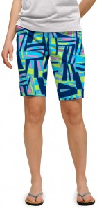 Tiki Bar Blue Women's Bermuda Short MTO