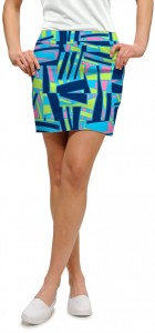 Tiki Bar Blue Women's Skort/Skirt MTO