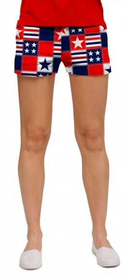 Betsy Ross StretchTech Women's Mini Short MTO
