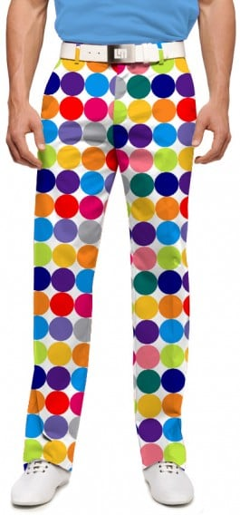 Disco Balls White Men's Pant MTO