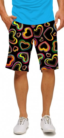 Electric Hearts StretchTech Men's Short