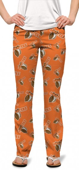 Hooters Orange StretchTech Women's Capri/Pant MTO