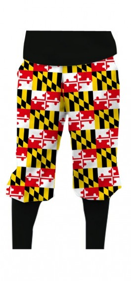 Maryland Flag StretchTech Knickerbockers MTO