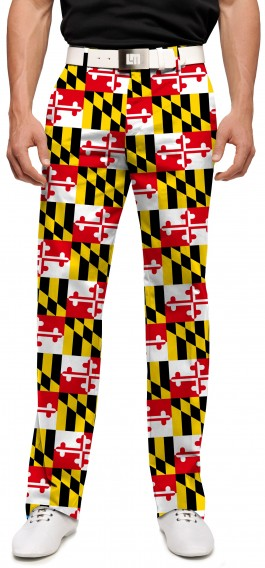 Maryland Flag StretchTech Men's Pant MTO