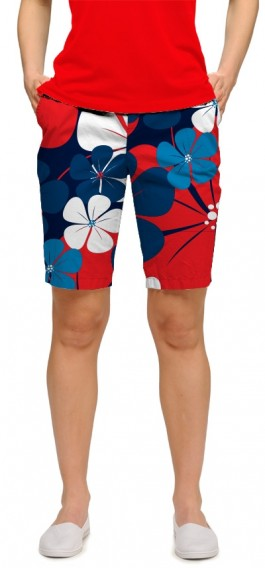 Poppy Fields StretchTech Women's Bermuda Short MTO