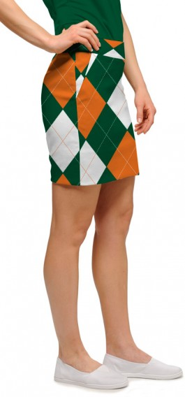Orange & Green Women's Skort/Skirt MTO