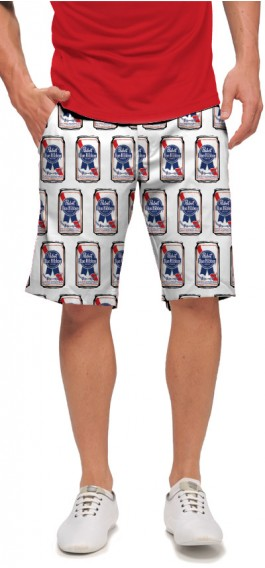 .Pabst Blue Ribbon Cans Men's Short MTO