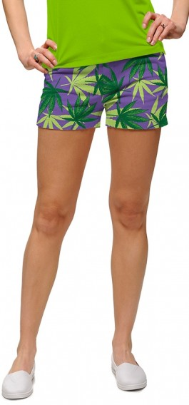 Purple Herb StretchTech Women's Mini Short MTO