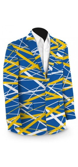 Stix Blue & Gold StretchTech Men's Sport Coat MTO