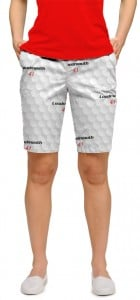 Big Golf Ball StretchTech Women's Bermuda Short MTO