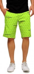 Big Golf Ball Green StretchTech Men's Short MTO