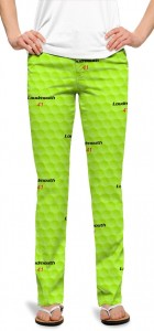 Big Golf Ball Green StretchTech Women's Capri/Pant MTO