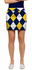 Blue & Gold Mega StretchTech Women's Skort/Skirt MTO