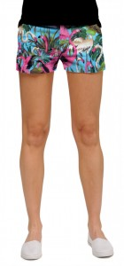 Pink Flamingos Women's Mini Short MTO
