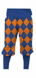 Orange & Blue Mega StretchTech Knickerbockers MTO