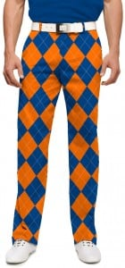 Orange & Blue Mega StretchTech Men's Pant MTO