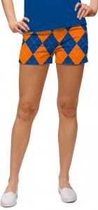 Orange & Blue Mega StretchTech Women's Mini Short MTO