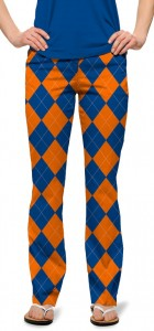 Orange & Blue Mega StretchTech Women's Capri/Pant MTO