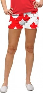 Canada Maple Leaf StretchTech Women's Mini Short MTO
