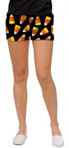 Candy Corn Women's Mini Short MTO
