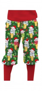 Christmas Pigs StretchTech Knickerbockers MTO