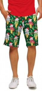 Christmas Pigs StretchTech Men's Short MTO