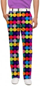 Disco Balls Black Men's Pant MTO