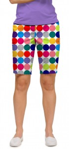 Disco Balls White Women's Bermuda Short MTO
